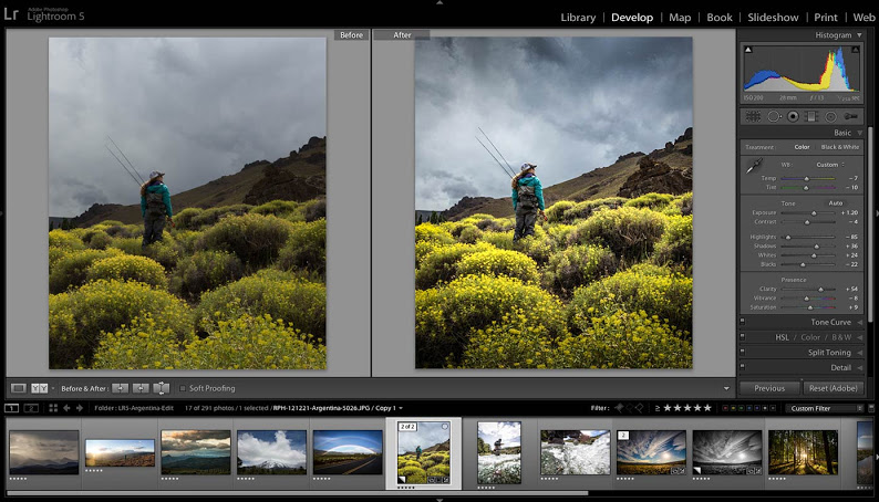 Adobe Photoshop Lightroom CC latest version