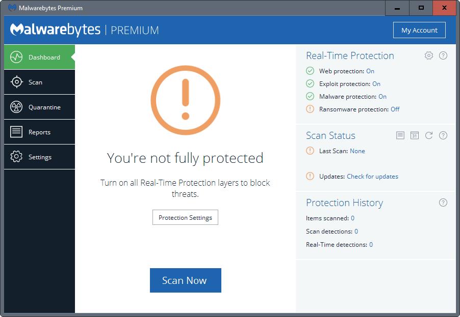 Malwarebytes Premium latest version