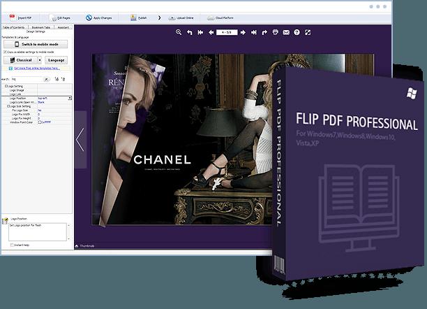Flip PDF Professional windows