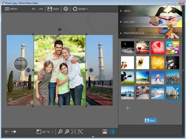 Avanquest InPixio Photo Clip Professional windows