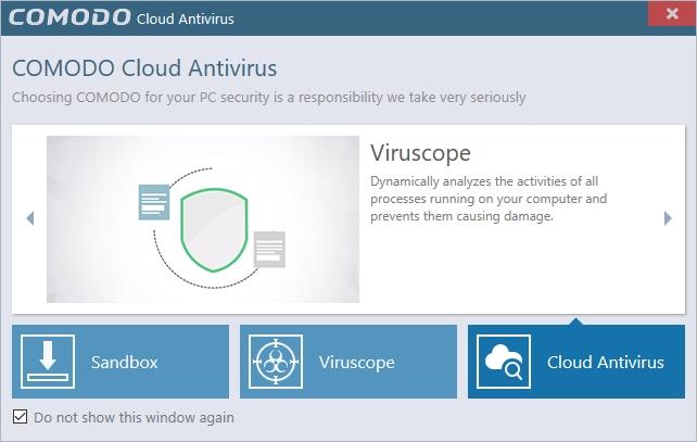 Comodo Cloud Antivirus latest version