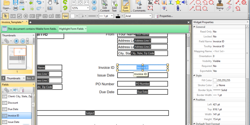 PDF-XChange Editor Plus latest version