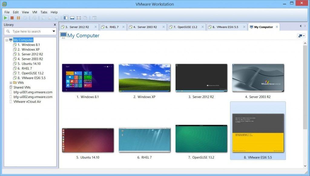 VMware Workstation Pro latest version