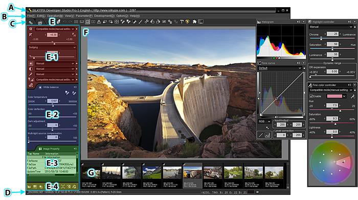 SILKYPIX Developer Studio Pro windows