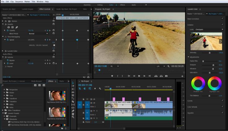 Adobe Premiere Pro CC latest version