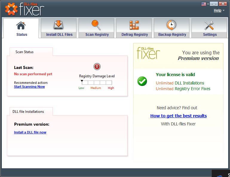 DLL-Files Fixer windows