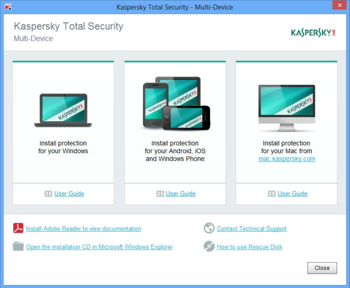 Kaspersky Total Security latest version