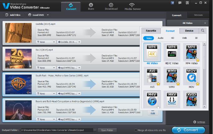 Wondershare Video Converter latest version