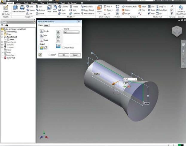 Autodesk Inventor Professional windows