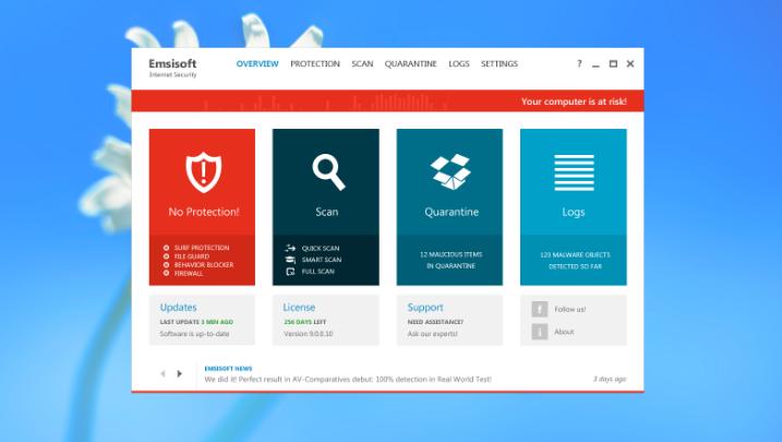Emsisoft Internet Security latest version