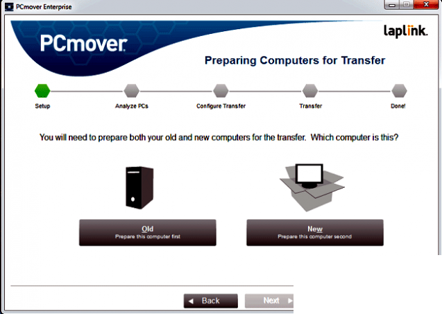 Laplink PCmover Enterprise latest version