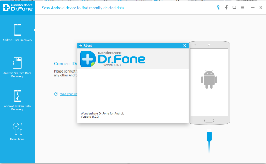 Wondershare Dr.Fone latest version