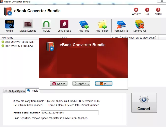 eBook Converter Bundle windows