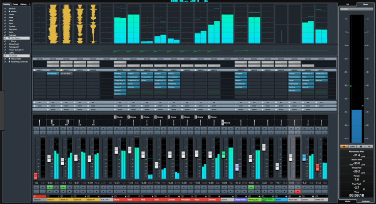 Cubase Pro windows