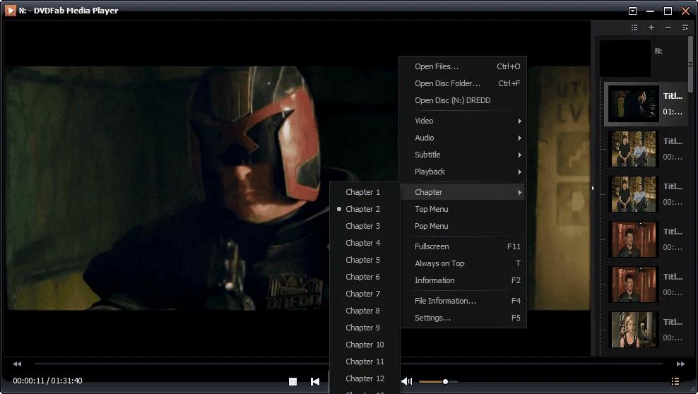 DVDFab Media Player Pro latest version
