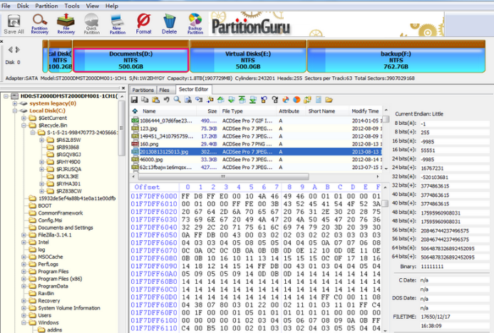 Eassos PartitionGuru latest version