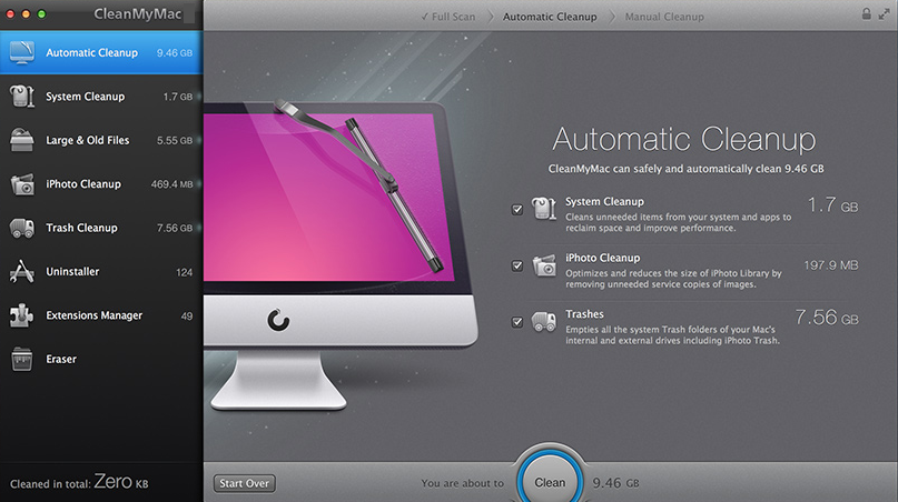 CleanMyMac latest version