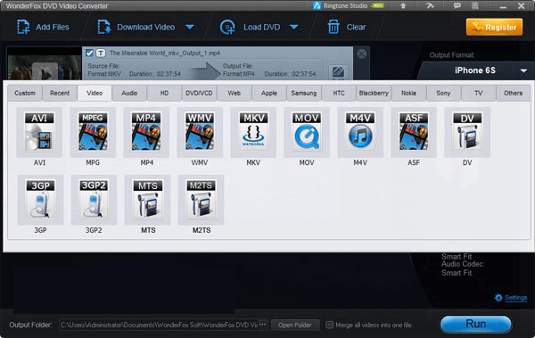 WonderFox DVD Video Converter latest version