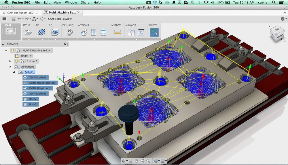 Autodesk Fusion 360 windows