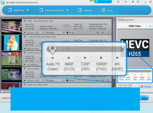 HD Video Converter Factory Pro windows dd