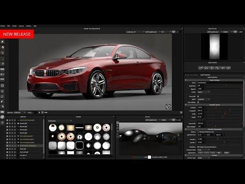 Lightmap HDR Light Studio Carbon windows