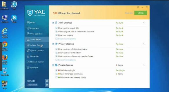 YAC Antivirus latest version