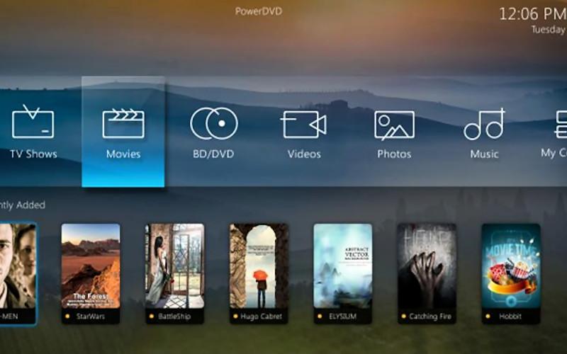 CyberLink PowerDVD Ultra windows