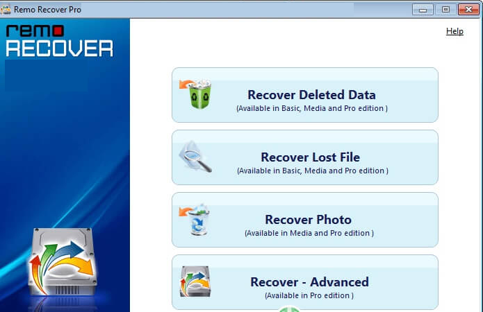 Remo Recover PRO latest version