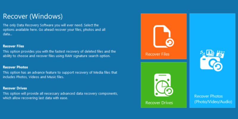 Remo Recover PRO windows