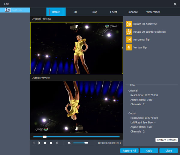 Aiseesoft Video Enhancer latest version
