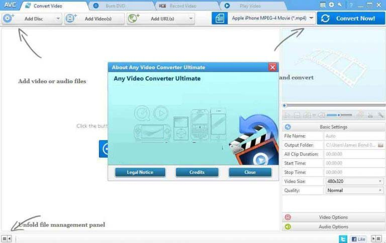 Any Video Converter Ultimate windows
