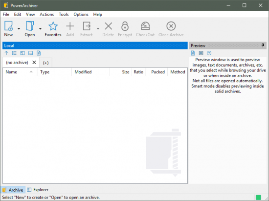 PowerArchiver Standard windows