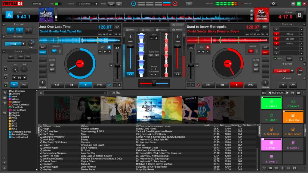 Atomix Virtual DJ Pro Infinity latest version