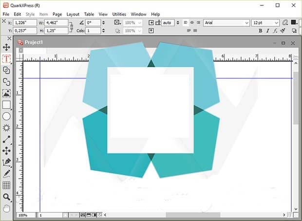 QuarkXpress windows