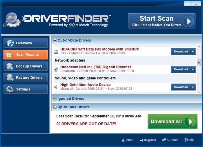 DriverFinder PRO windows