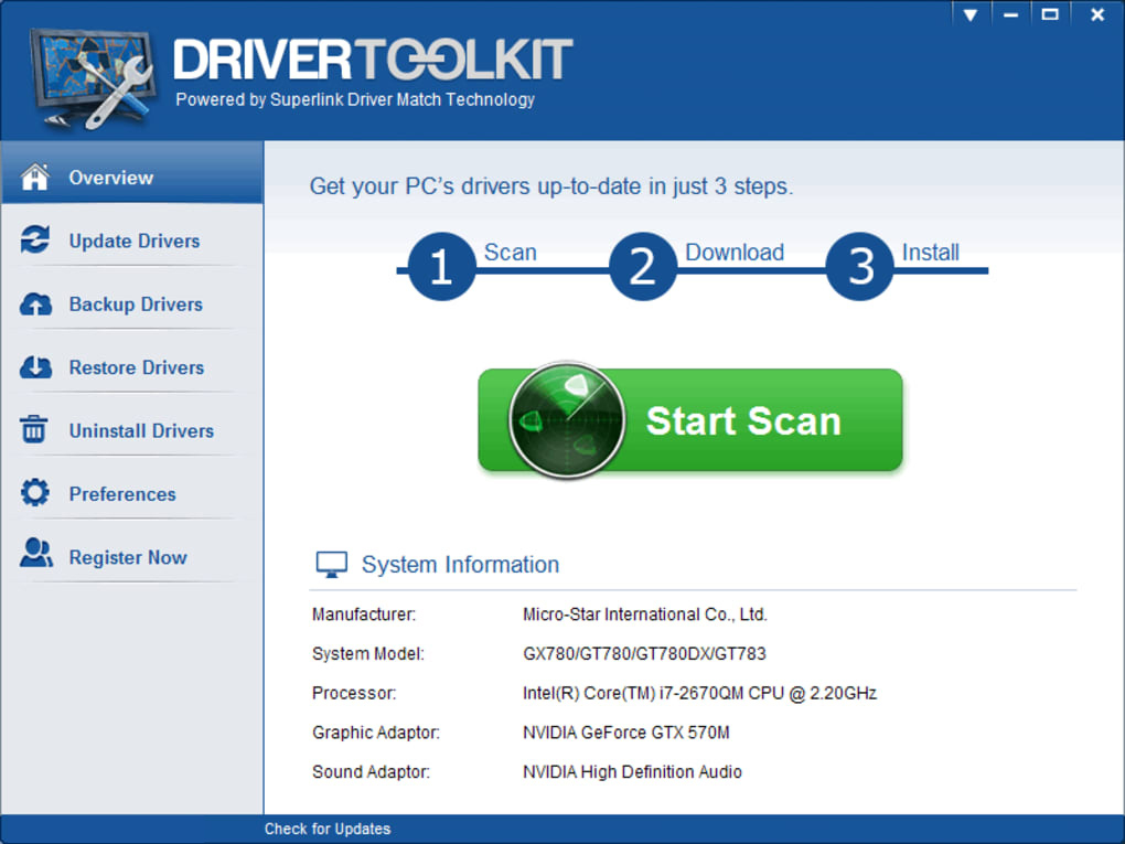 Driver Toolkit latest version
