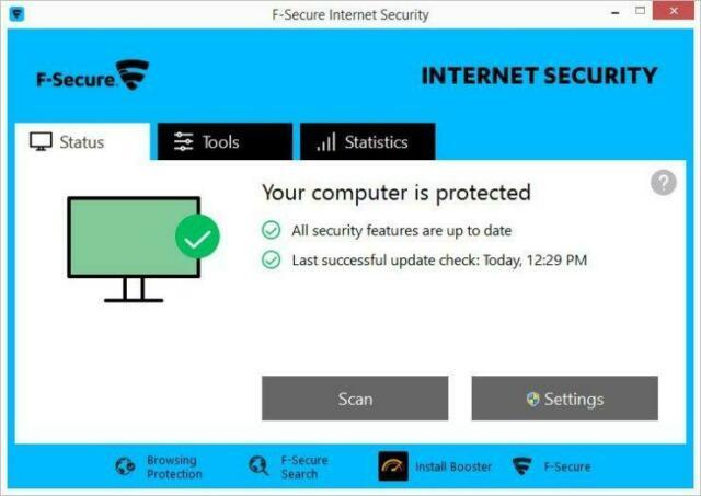 F-Secure Internet Security latest version