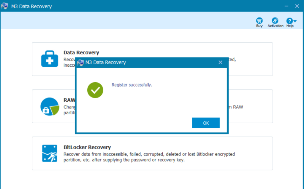 M3 Data Recovery latest version