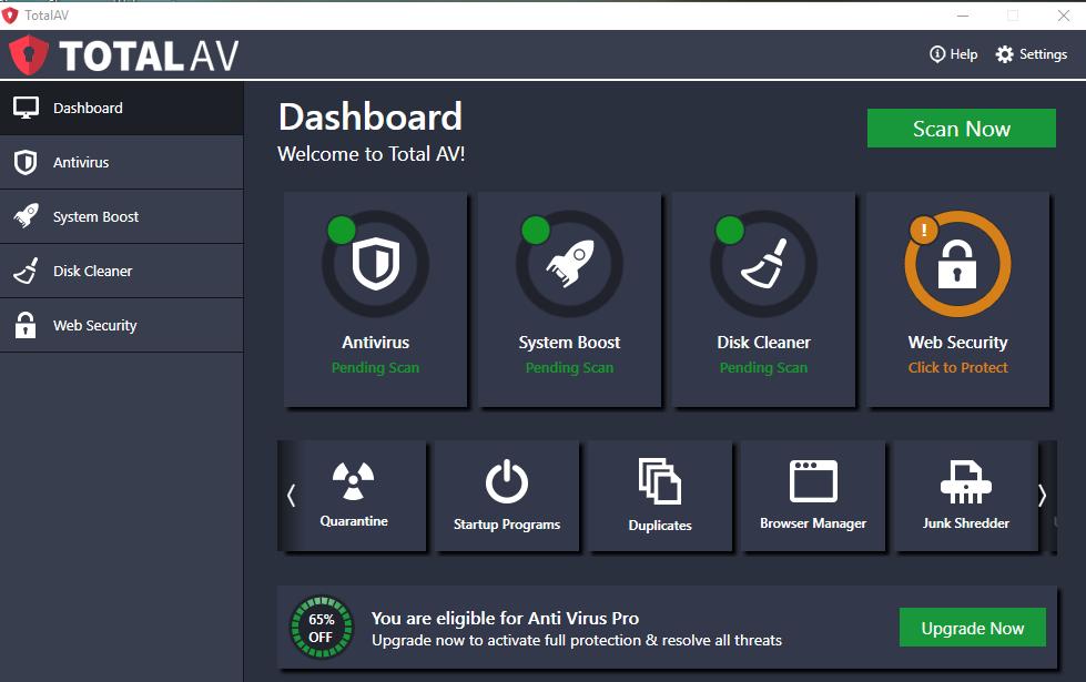 Total AV Antivirus latest version