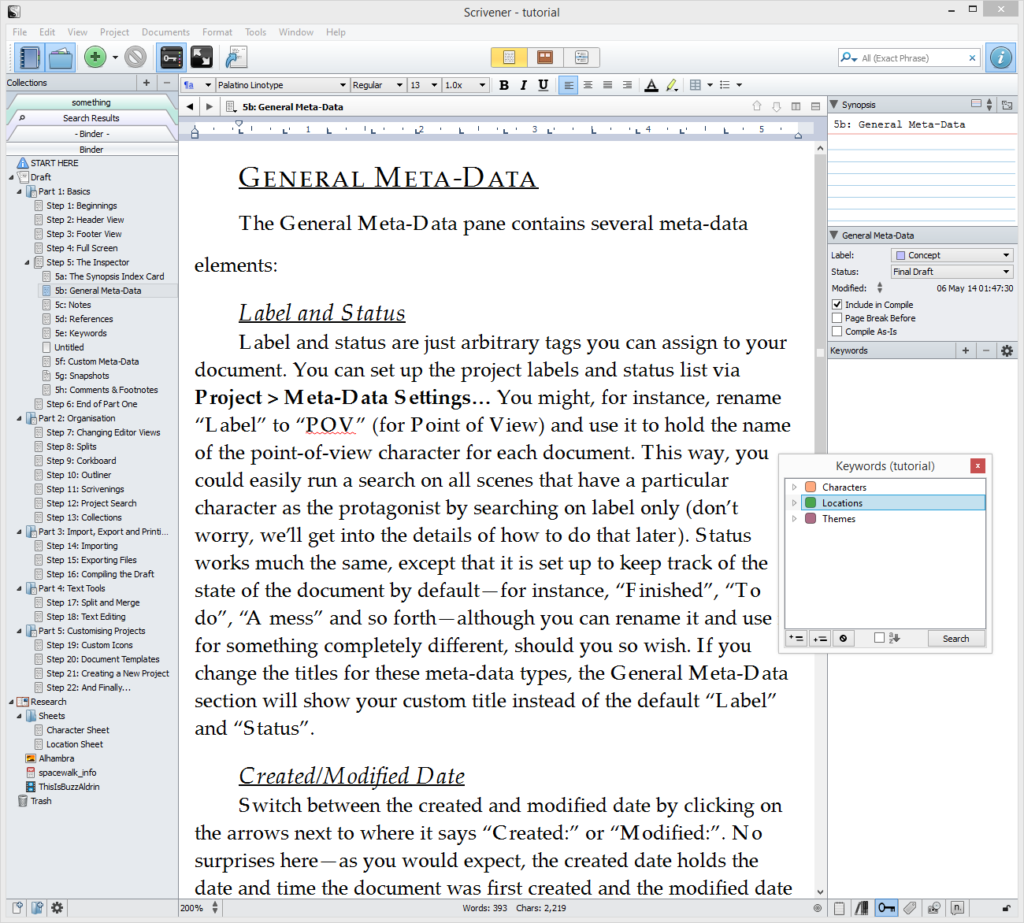 Scrivener latest version