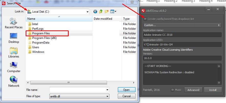 Adobe Animate CC windows