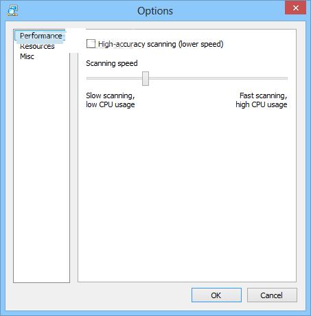 Advanced IP Scanner windows