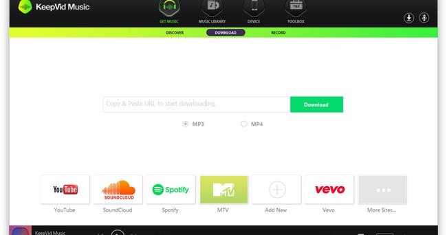 KeepVid Music Pro latest version
