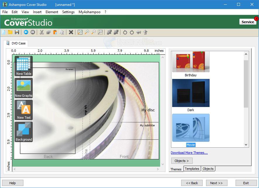Ashampoo Cover Studio latest version
