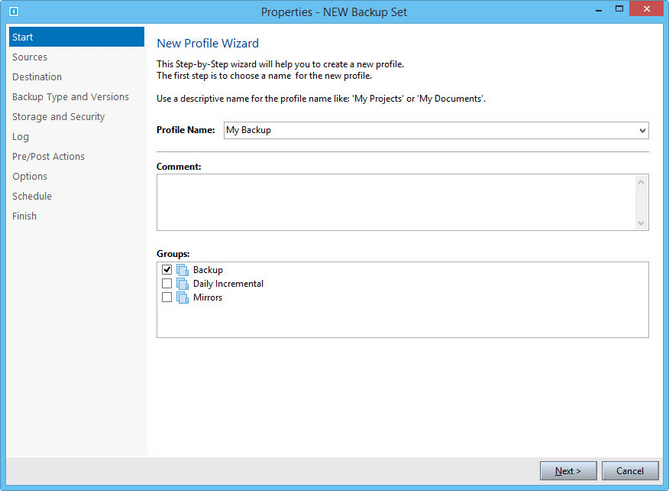 KLS Backup latest version