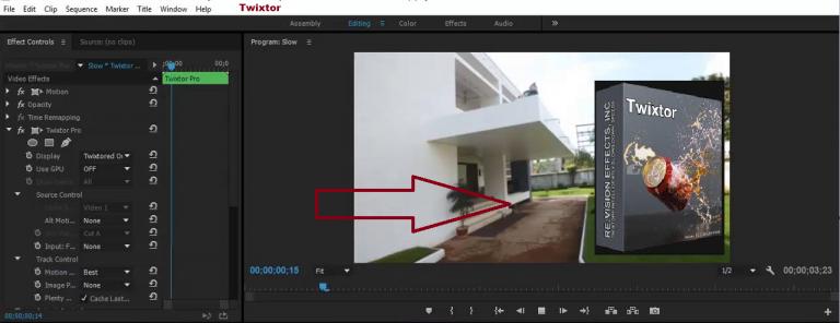 Twixtor Pro windows