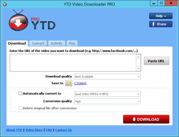 YTD Video Downloader PRO latest version