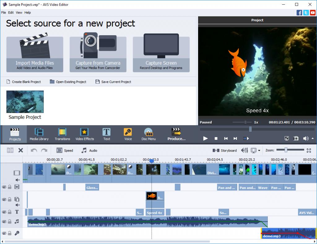 AVS Video Editor latest version