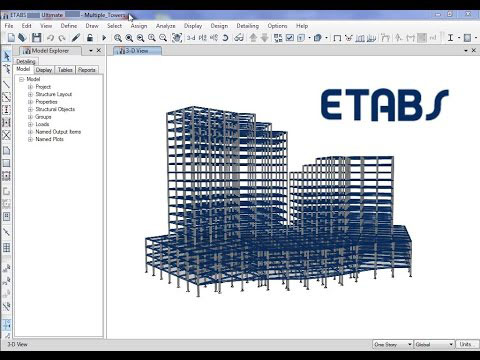 ETABS windows