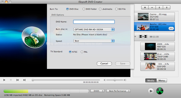 iSkysoft DVD Creator latest version